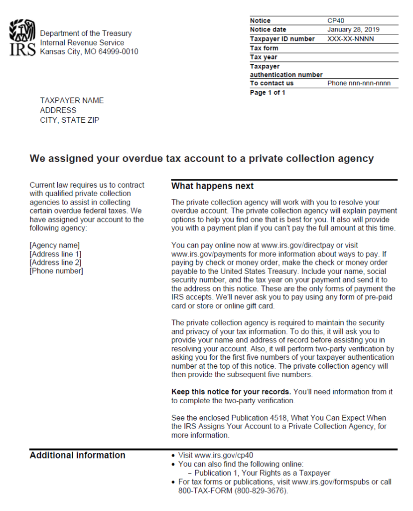 Letter To Collection Agency from www.irsmind.com